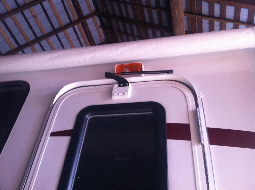 Adding A Gas Strut To The Entry Door Keystone Rv Forums