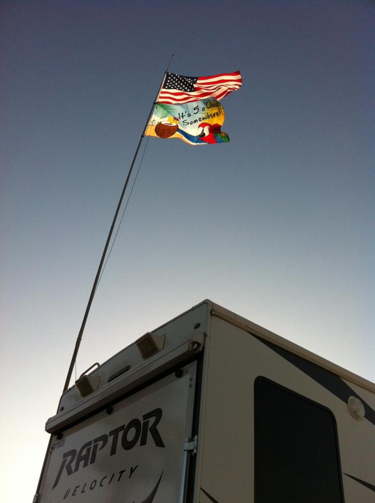 Flying The Flag Page 2 Keystone Rv Forums