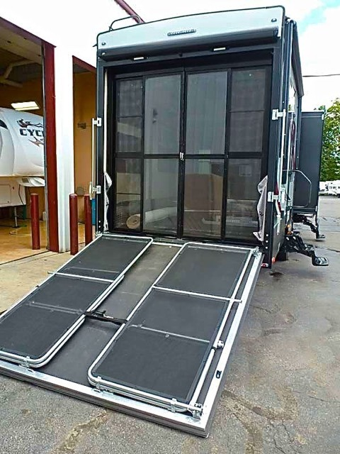 Patio Kits For Toy Haulers Modern amp Outdoor