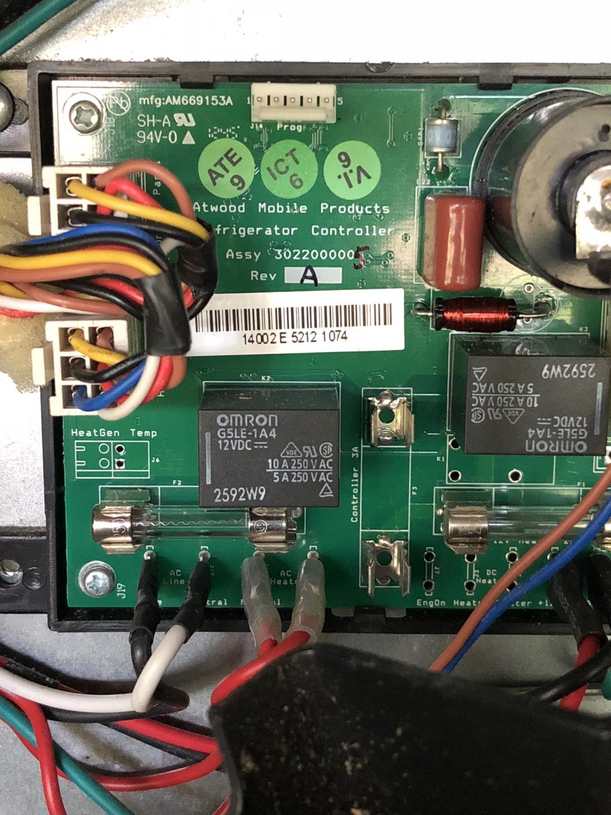 DC fuse for refrigerator? - Keystone RV Forums